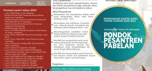 Download Brosur Pondok Pesantren Pabelan 2020